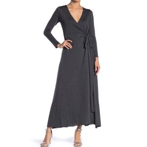 Navy Elan wrap dress